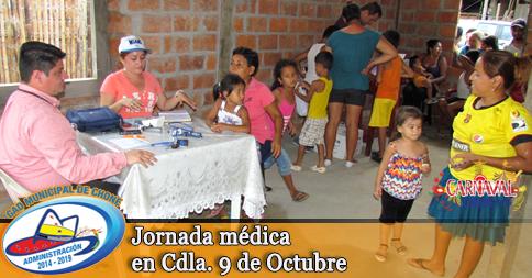 Jornada médica en Cdla. 9 de Octubre