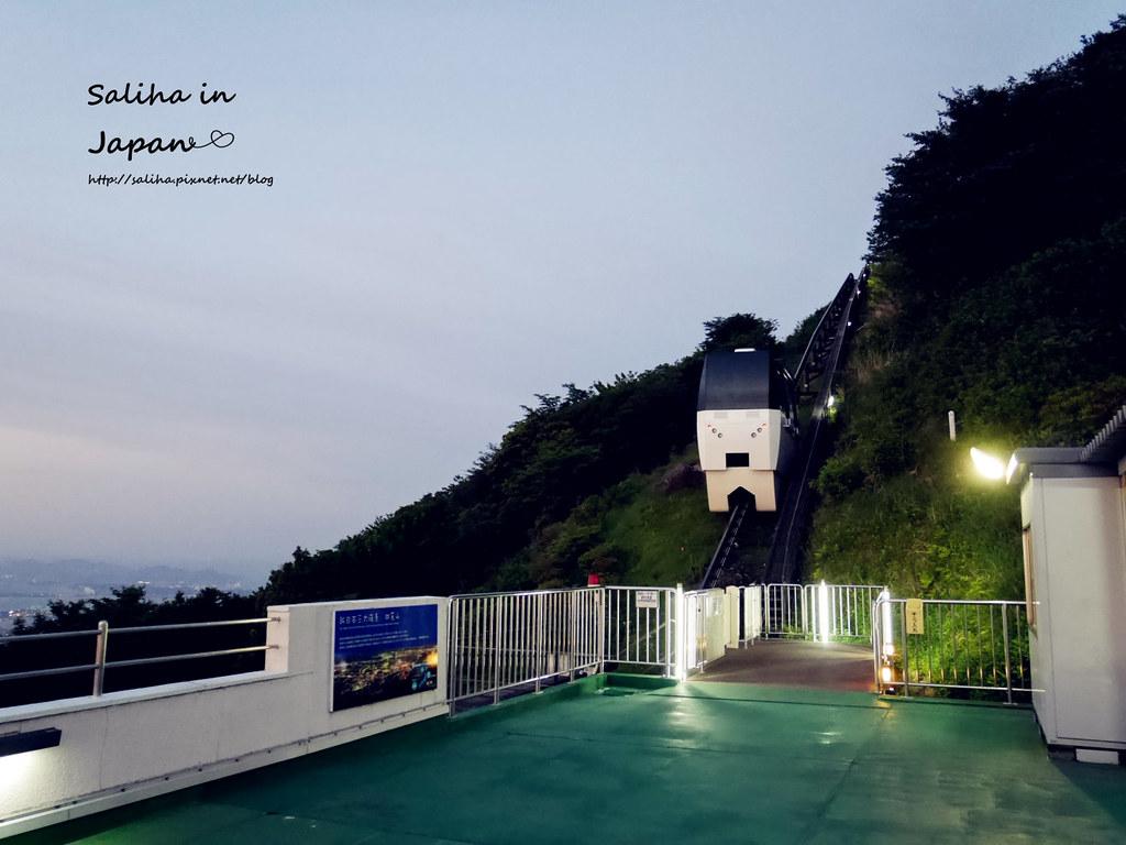 皿倉山夜景纜車 (16)