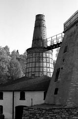 Kalkwerk Lengefeld, Erzgebirge, Sachsen 1992