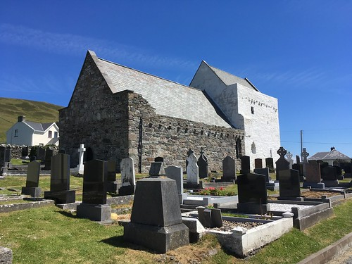 Cistercian Abbey, Clare Island, County Mayo