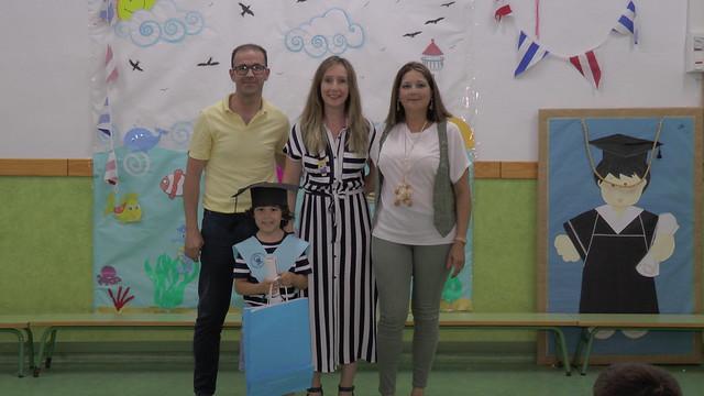 Los niños y niñas de infantil celebraron su graduación con un gran recital