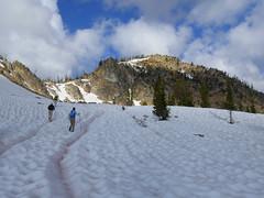 Heading toward Crater Peak