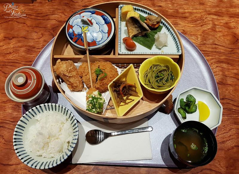 tonkatsu anzu service lunch set