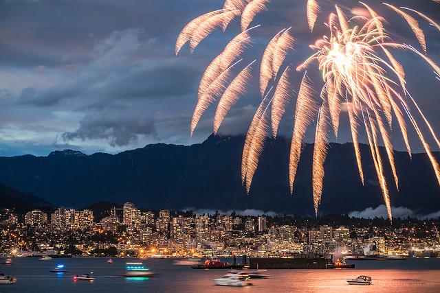 A Bangin' Birthday 🎆🇨🇦 Vancouver, BC