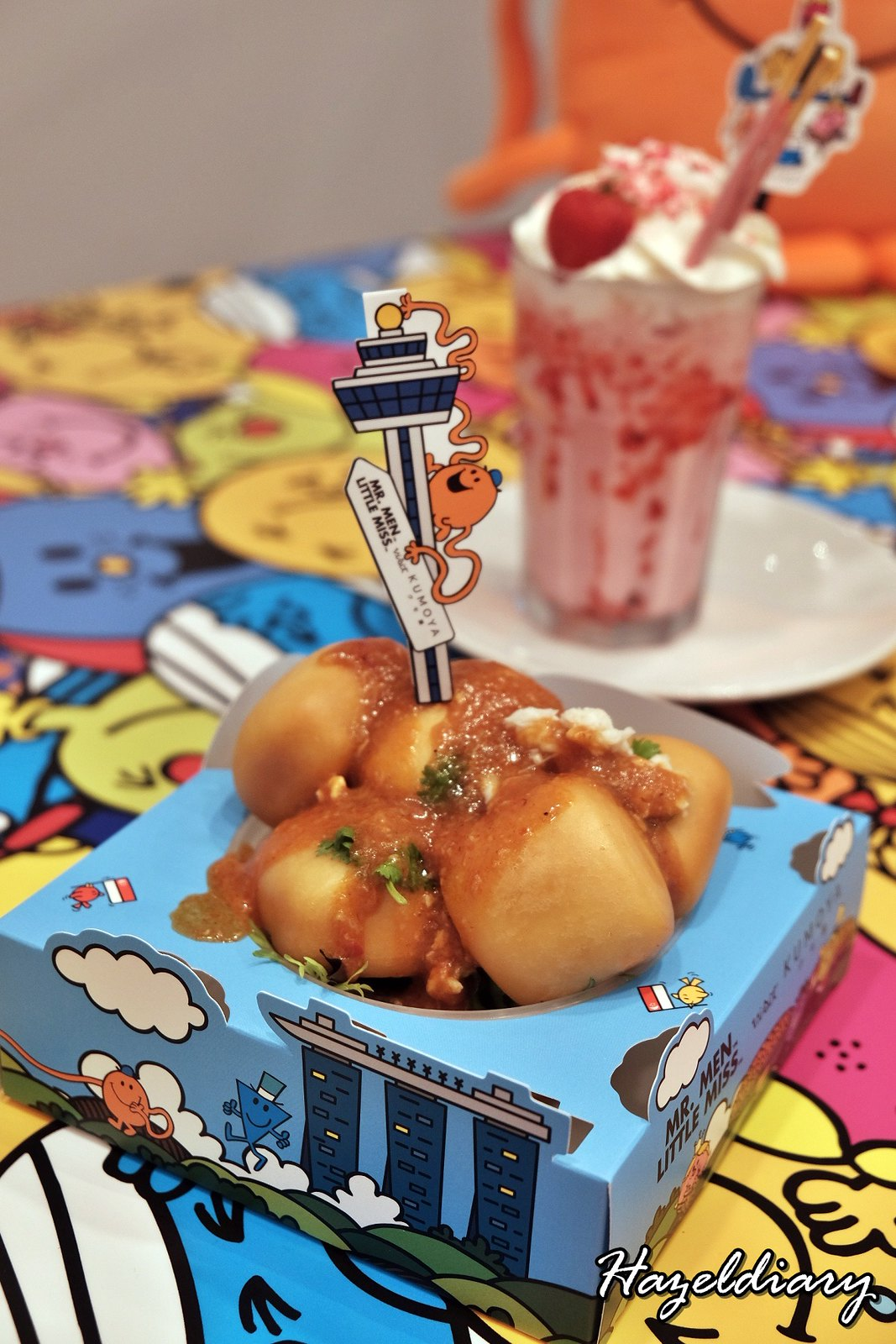 Kumoya Mr Men Little Miss-Fried Mantou with house-made chilli crab dip