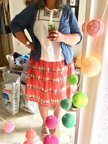 the budgie skirt, july 2018