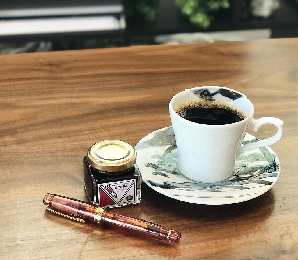 ハワイアンライプとコーヒー