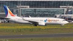 Boeing 737 -8GJ FLYEGYPT SU-TMH 34903 Francfort mai 2018