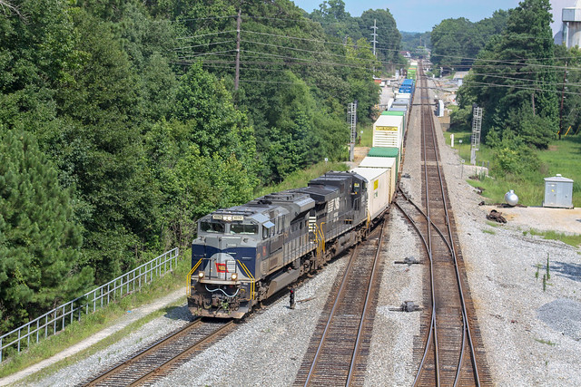 NS 282 at Whitaker Yard, Canon EOS 7D, Canon EF 75-300mm f/4-5.6