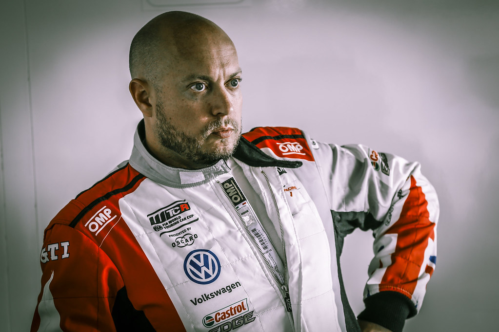 HUFF Rob, (gbr), Volkswagen Golf GTI TCR team Sebastien Loeb Racing, portrait during the 2018 FIA WTCR World Touring Car cup race of Slovakia at Slovakia Ring, from july 13 to 15 - Photo Jean Michel Le Meur / DPPI
