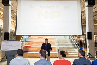 SDF Grant - Check Presentation