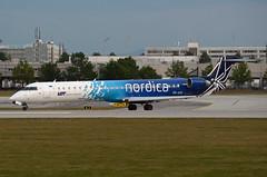 Nordica (LOT) Canadair CL-600-2D24 Regional Jet CRJ-900ER ES-ACD