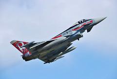 Eurofighter EF2000 (30+90) Take-Off at Wittmund Airbase (ETNT)
