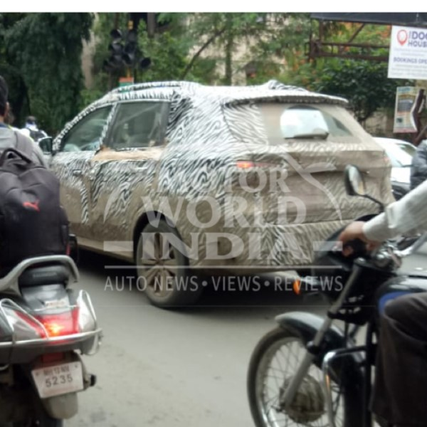 MG RX5 Spy Pics