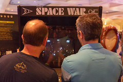 """Space Wars"" Arcade Game"