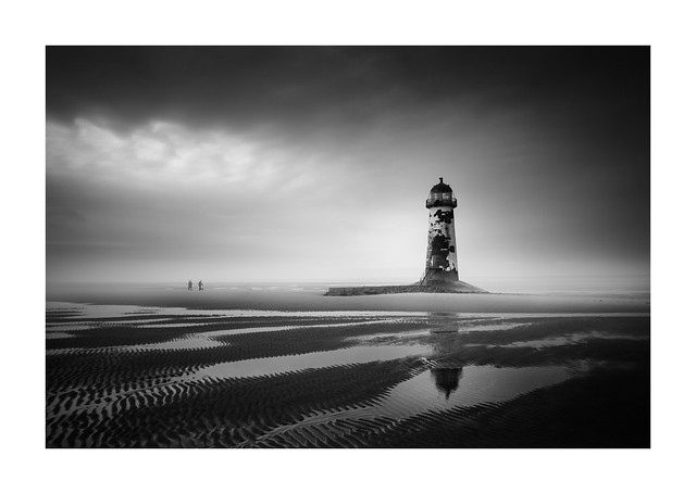 Point of Ayr Lighthouse Wales 29th Oct 2017
