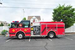 Cliffside Park Volunteer Fire Department Engine 6