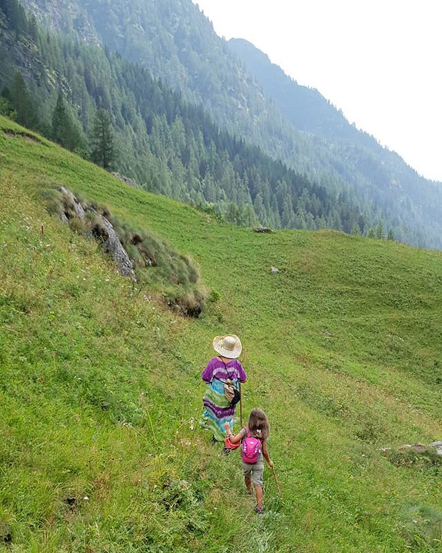 Walking in the Mountains #mountain #path #walk #walking #summer #gressoney #valdaosta #travelgram #mylittlebabygirl #Margherita #igers #igersitalia #photooftheday #picoftheday #fun #family