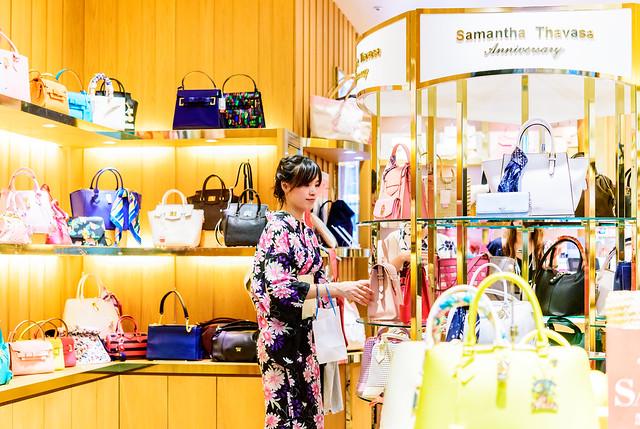 Photo:Kimono girl at Samantha Thavasa Anniversary (bag, gift and sweets store) in Tokyo soramachi : サマンサタバサ アニバーサリー(東京ソラマチ) By Dakiny