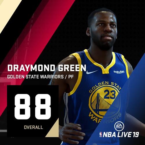NBA Live 19 Draymond Green