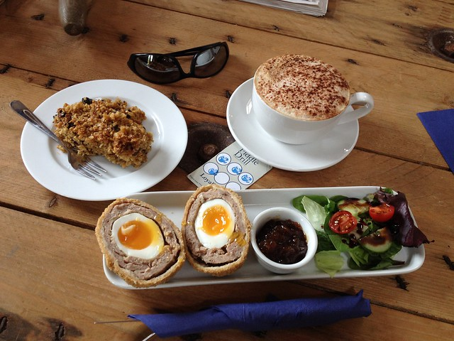 Yorkshire Wolds Cycle Route Fiddle Drill Goodmanham Runny Yolk