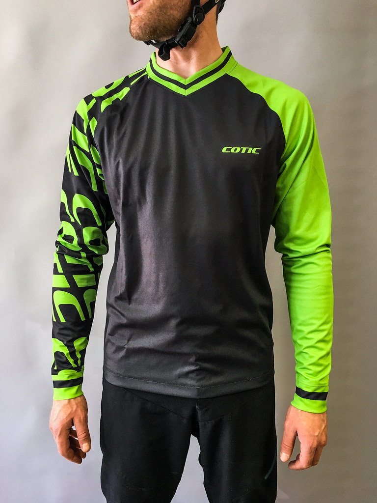 green COTIC jersey