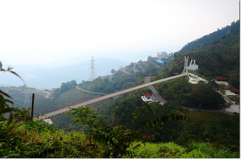 紅楠坑山俯瞰太平雲梯
