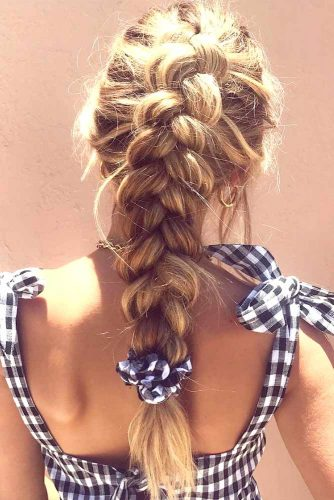 Adorable Dutch Braid Hairstyles To Amaze Your Friends! 1