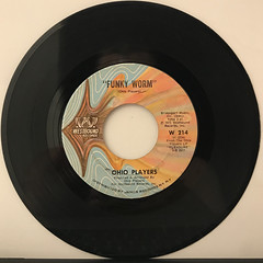 OHIO PLAYERS:FUNKY WORM(RECORD SIDE-A)