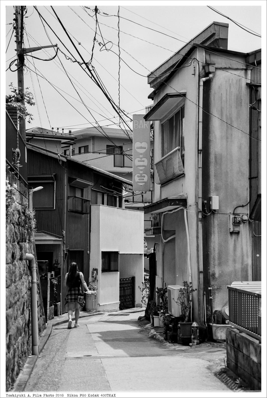 神奈川県横須賀市船越町 Nikon_F80_Kodak_400TMAX__41