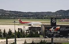 Ikar Boeing 767-300ER VP-BDI Sochi-Adler Airport webcam capture