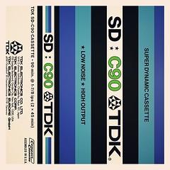 Cassettes: TDK Super-dynamic C90