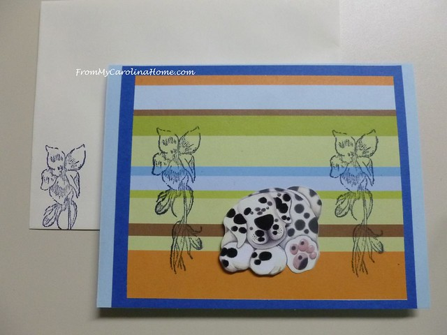 Stamping Cards for Blue Ridge Humane Society at From My Carolina Home