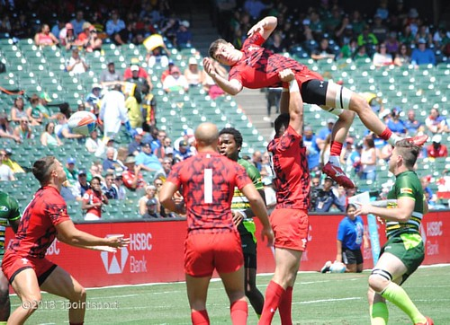 Matrix style move with the line in Wales v Zimbabwe #rugby #rwc7s #attpark