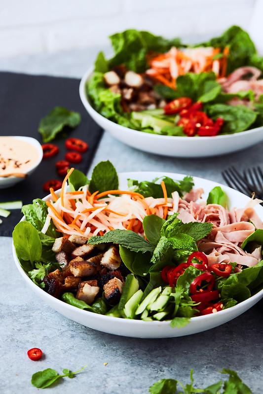 Banh Mi Salad {Keto, Paleo, Whole30}