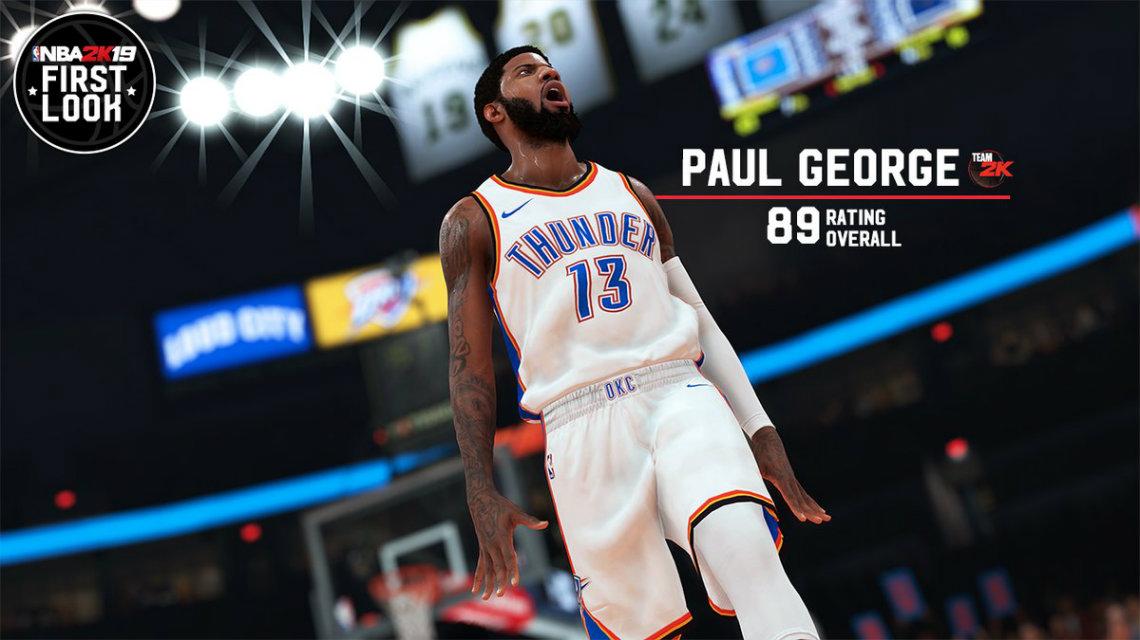 NBA 2K19 Overall ratingler - Antetokounmpo, Kawhi, B. Simmons, P. George, Lillard muhabbeti