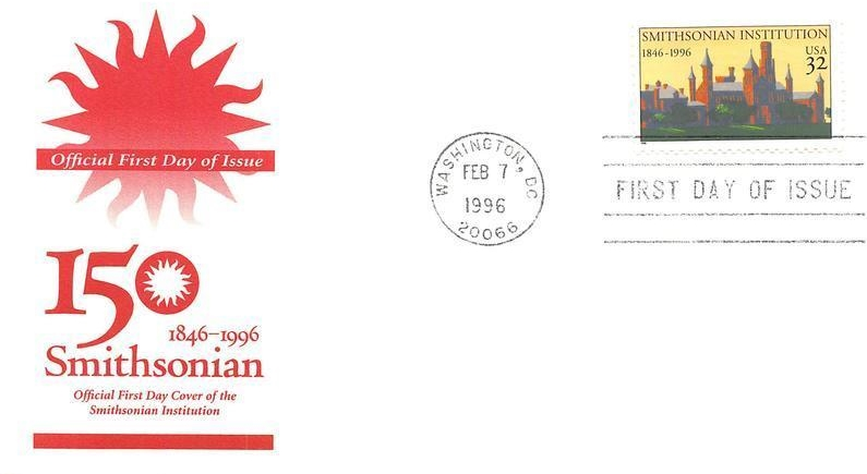 United States - Scott #3059 (1996) first day cover