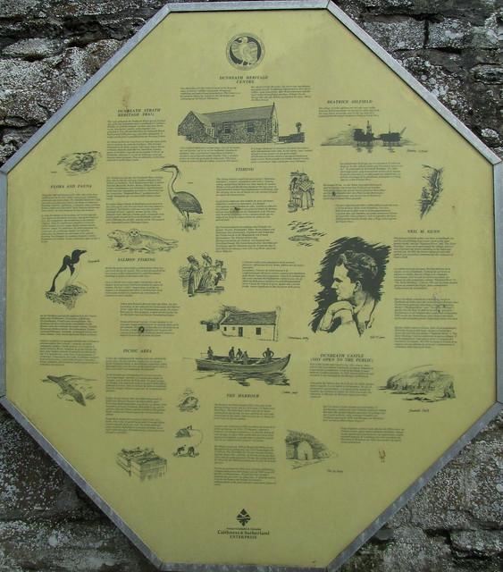 Information Board, Dunbeath