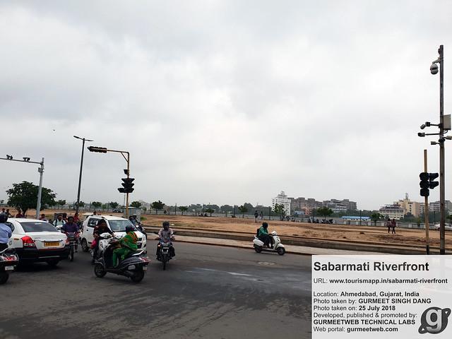 Sabarmati Riverfront, Ahmedabad, Gujarat, India