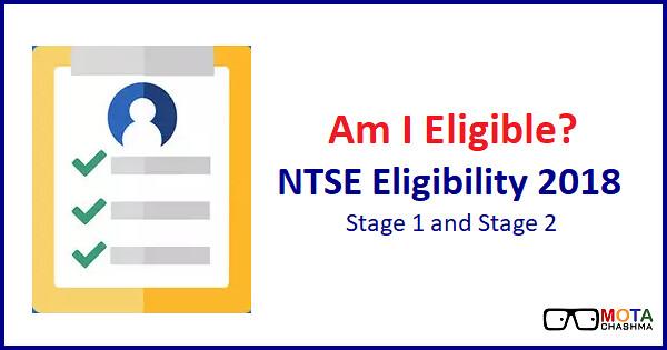 ntse eligibility