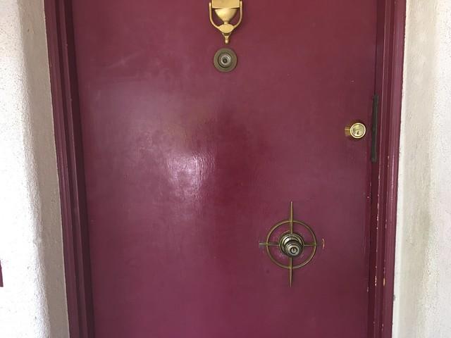 The airbnb door