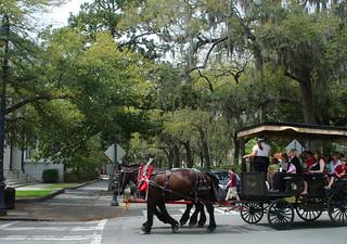 Horsedrawn Tour Carriage