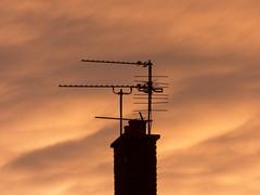 Sunset aerials