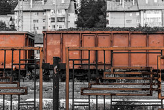 Rusty wagons