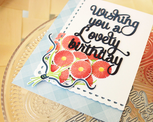 LizzieJones_PapertreyInk_August2018_SayItSimply_ScallopStackers_BouquetLovelyBirthdayCard3