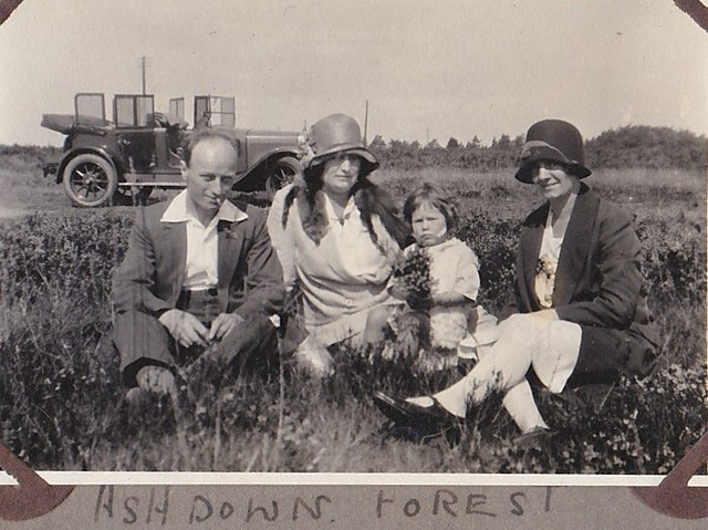 At Ashdown Forest Sussex 1930's