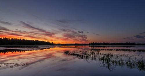 Sweden's Incredible, Glorious Summer Sunsets. Photographer Benny Høynes