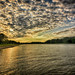 Morning Clouds Over the Illinois by kendoman26