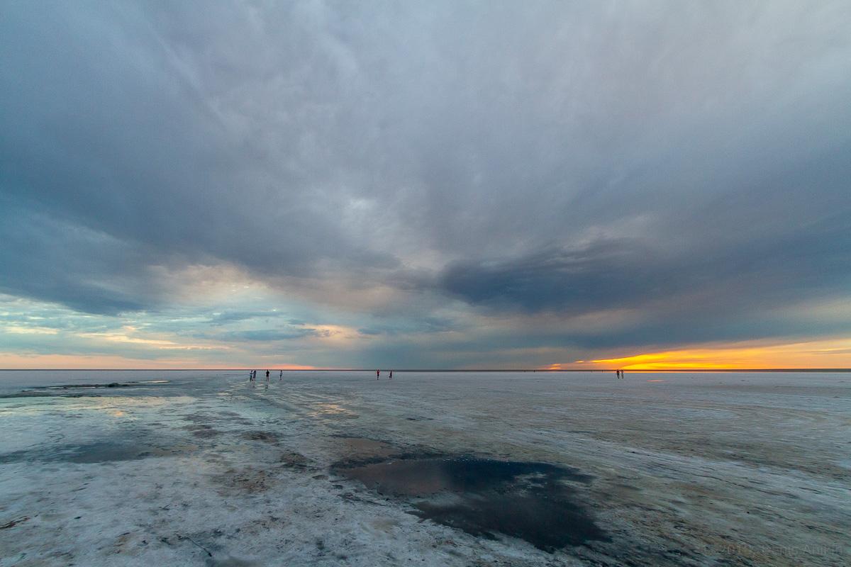 Закат на Эльтоне фото 8