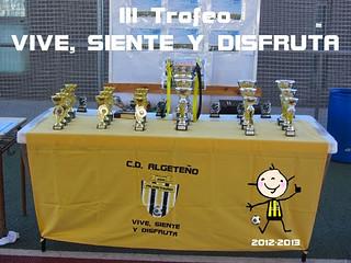 III Trofeo VIVE, SIENTE Y DISFRUTA 2013